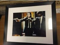 Scarface & Pulp Fiction framed prints