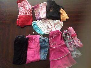Large winter girls bundle size 5-6 years old