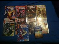 9 Dead Pool Comics and a Doctor Who Book