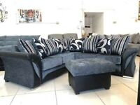 "🎀Elegant Style New🎀SHANONN FABRIC 3+2 Seater AND COERNER Sofa""🎀 Available in Stock!🎀"