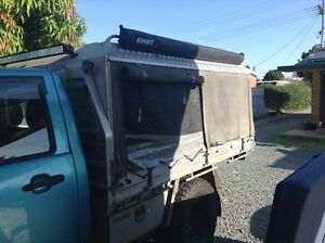 custom alloy/canvas canopy too suit single cab ute Burpengary Caboolture Area Preview