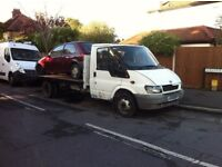 Ford Transit Long wheel base 125BHP Recovery Truck 15.5Ft Body