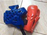 SPARRING PADS - Head, Hands, for Taekwondo & Karate
