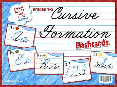 Abeka: Cursive Formation Flashcards: Grades 1-2: BRAND NEW for sale  Edmond