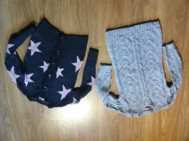 Lovely Next Woolen Girls Cardigans - 7-8 Years - Hardly Used - £12 FOR BOTH --