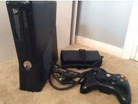 X-box 360 slim + hard drive