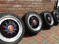 """17"""" BBS RC 041/042 Staggered alloy wheels - BMW E36 - 5x120"""