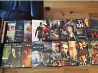 80 dvds plus...