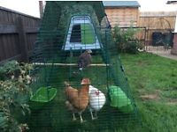 Omlet Eglu Go Up Chicken House & extra 1m run