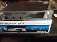 JBSYSTEMS VX400 Amp only used in house for tv and hifi