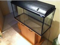 fluval 2ft fish tank with stand