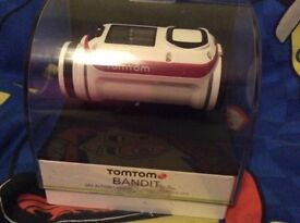 Tomtom bandit action camera ( used once)