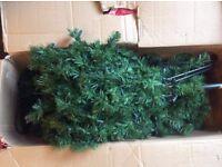 Free 6 foot artificial xmas tree.