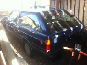 1988 vw fox wagon part out