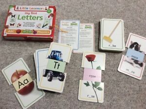 Sliding flash cards phonics abc