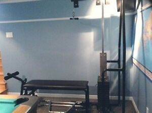 Appareil exercices  poids bench altere