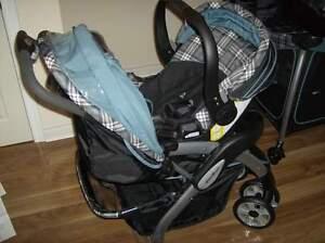 Eddie Bauer travel system stroller