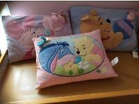 Set of 3 Winnie the Pooh cushions