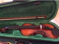 1/4 size violin brand new (ACv33), Immaculate cond £50 incl.ABRSM Grade One book, CD & piano pieces