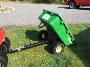 utility trailer for a lawn tractor or atv