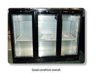Blizzard LOWBAR3 Low Height Triple Door Bottle Cooler Cheapest price online
