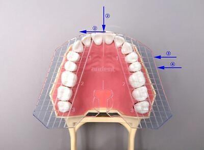 Dental Guide Template Plate For Complete Denture False Teeth Arrangement