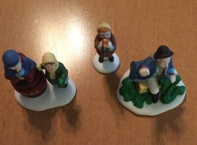 Department 56 The Old Man And The Sea 3 Piece