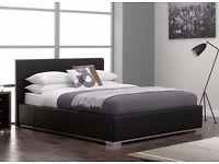 Second Hand Warner Bed Frame Size 5'0 King Base Sprung Slat
