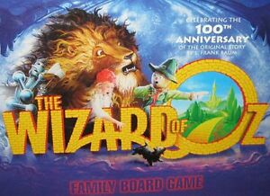 WOW! GIFT! The Wizard of Oz Board Game 100th Anniversary Edition
