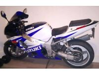 Suzuki GSX600R. 2002 .18K swap for best enduro are nice big jeep r car