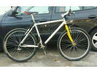 Marin aluminium frame lightweight bike