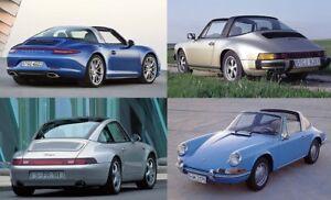 RECHERCHE Porsche 911 Targa