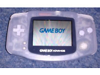 Game Boy Advance with Carry Case, Accessories and Two Games