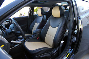 S Leather Custom Fit Seat Cover For Hyundai Veloster 2012 2013 Ebay