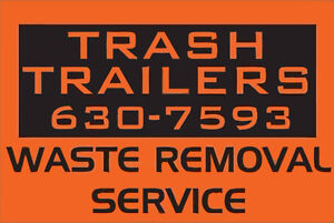 Waste Removal, Material Delivery,Snow Plowing - TRASH TRAILERS