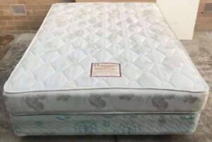 Excellent King Koil Brand queen bed base with Dreamaster mattress Kingsbury Darebin Area Preview
