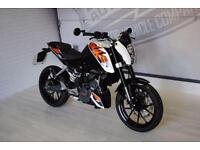 2016 - KTM 125 DUKE, IMMACULATE CONDITION, £3,500 OR FLEXIBLE FINANCE TO SUIT