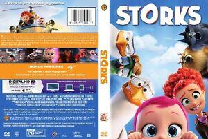 STORKS (2016) DVD