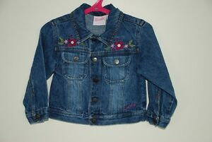 """Barbie' denim jean jacket Size 3T"