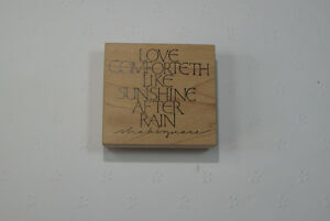 Various Wood Block Rubber Stamps for stamping cards/scrapbooking Kingston Kingston Area image 8