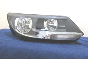 VW TIGUAN HEADLIGHT RIGHT 12 13 14 15 16 USED OEM