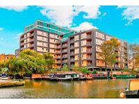 modern canal side city flat 2 bed/2 bath