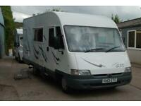 1999 (V) PILOTE GALAXY 75 A-CLASS 5 BERTH 24900 MILES FULL HISTORY 1 OWNER