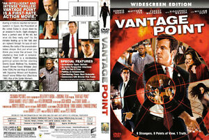 2008 DVD Movie: Vantage Point - Widescreen Edition!