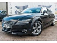 2008 AUDI TT 2.0 TDI QUATTRO DIESEL GREY LEATHER SEATS BOSE FULL SERVICE HISTOR