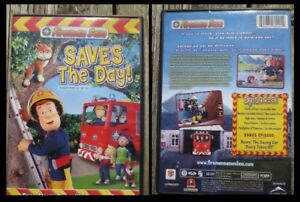 Fireman Sam Saves the day DVD in English, French & Spanish