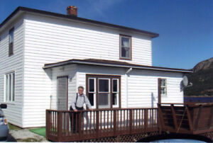 A fully furnished, 3 Bedroom House in Long Harbour $750 Heat Inc