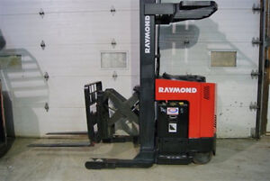 ELECTRIC RECONDITIONED  FORKLIFTS OVER 150 in inventory