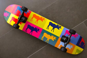 Moose Pop Art Skateboard BRAND NEW