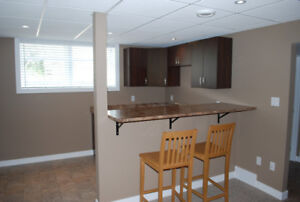 2 Bedroom Basement Suite available in Rosemont available now